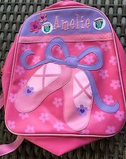 Amelie Dance Bag Ballet Shoes Or Backpack Pink And Lilac Purple