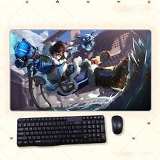Anime Desk Mat Overwatch OW MEI Chinese Girl Extral Large Mouse Pad Playmat