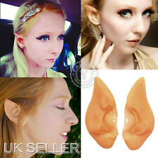 UK Fairy Elf Vulcan Alien Spock Hobbit Pixie Ears Tips Halloween Fancy Cosplay