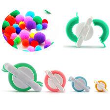 Pompom Maker Fluff Ball Weaver Needle Craft Knitting Wool DIY Tool 4 Sizes