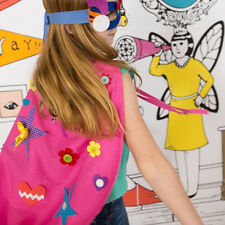 Make Your Own Pink Superhero Cape Activity Kit by Seedling