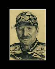 Dale Earnhardt nascar legend drawing from artist art image picture poster