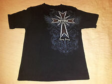 Hard Rock Cafe Hong Kong T Shirt sz Small Cross Logo  EUC HRC