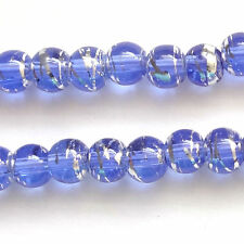 400 Sapphire Drawbench Translucent 4mm Beads Jewellery Making