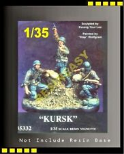 "warriors1/35 WWII German ""Kursk"" without Base, 3 figures only! - WA35332"