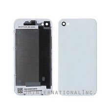 For iPhone 4s White Rear Glass Back Cover Battery Door Housing Replacement part