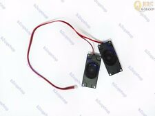 Pair Black 8ohm 5W Speakers with 4Pin Cable Audio for LCD Controll Board Kit