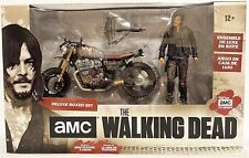 Daryl Dixon w/ New Custom Bike AMC The Walking Dead McFarlane Boxed Figure Set