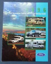 1996 Ford RV Recreation Vehicle & Trailer Towing Guide Dealer Sales Brochure