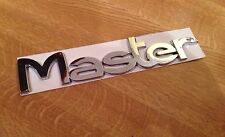 NEW RENAULT MASTER REAR DOOR BADGE Emblem Mk2 II 1998-2010 Van dCi