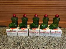 Lot of 5 - 1970s AVON Christmas Surprise Cologne  Charisma, Topaz, Sweet Honesty
