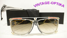 CAZAL 866 SUNGLASSES LEGEND CRYSTAL RED BLACK GOLD (646) AUTHENTIC NEW