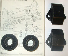 (x4) JAGUAR XJ6 XJ12 XJS Front Subframe Mounts Bushes (Front & Rear) (1968-96)