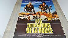 LES SEIGNEURS DE LA ROUTE course a la mort 2000  ! stallone affiche cinema