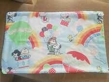Snoopy charlie brown pillow case lot of 1 (ew2)