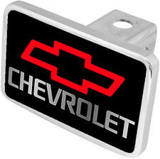 New Chevrolet Red Logo/Word Tow Hitch Cover Plug
