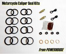 Yamaha XJR1200 XJR 1200 & SP front brake caliper seal repair kit Sumitomo 4 pots