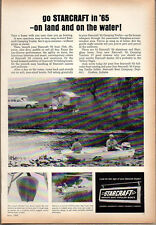 1965 Vintage Ad Starcraft Boats & Tent Camping Trailers Goshen,IN