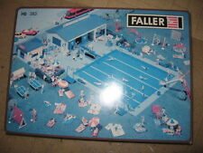 Faller HO SCALE #383 SWIMMING POOLw/ACCESSORIES