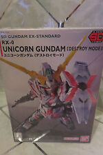 Bandai SD Gundam Ex-Standard RX-0 UNICORN GUNDAM Gunpla Model Kit NEW