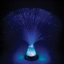 Colour Changing FIBRE OPTIC ICE LAMP Fountain.......... Battery Operated, Safe