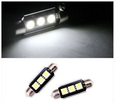 2x LED License Plate Lights For Benz W208 W209 W203 W169 W210 W211 W212 AMG CLK