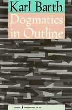 Dogmatics in Outline Barth, Karl Paperback