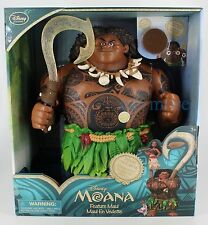Disney Store Exclusive Moana Talking Maui Action Figure Articulated New