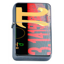 Pi Sign D8 Windproof Dual Flame Torch Lighter Mathematical Symbol