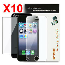 10x Full Body iPhone SE 5/5c/5s High Defintion (HD) Clear Screen Protectors Guar