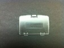 NEW TRANSPARENT CLEAR GAME BOY COLOR REPLACEMENT BATTERY COVER LID DOOR