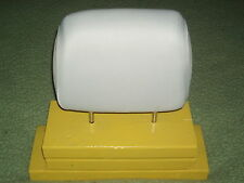 FORD - 2 white  headrest covers NEW