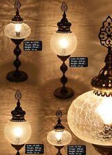 Stehlampe Orientlampe Tischlampe Tiffany Dekoleuchte Glas Messing Antik 1001