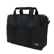 New YOSHIDA PORTER STAGE 2WAY BRIEF CASE (S) 620-08285 BLACK From JP