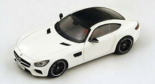 Spark 1/43 2014 Mercedes AMG GTS white with Panorama Tinted Roof S1071