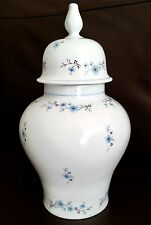 "Royal Porzellan Bavaria KPM Germany Handerbeit Stoneware 11""/28cm Lidded Jar"