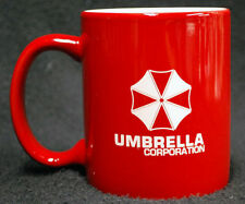 "Resident Evil Umbrella Corporation Coffee Mug ""Can be Personalized"" Red or BLack"