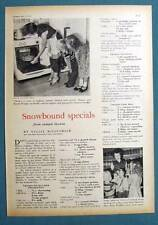 Dated Orig 1953 Farmers Wife Photo Ad Mrs R F Wright of Highmore South Dakota