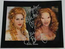 BUFFY THE VAMPIRE SLAYER : JULIE BENZ AUTOGRAPH                         REF: C85