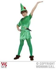 Para Niños Peter Pan Fancy Dress Costume nunca Tierra Cuento De Hadas Outfit 140cm