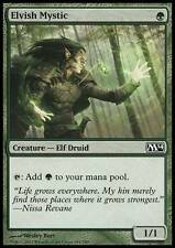 MTG Elvish Mystic Elf + 40 more Green Magic the Gathering Cards