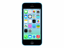 Apple iPhone 5c - 8GB - Blue Factory Unlocked AT&T T-Mobile Straight Talk Simple