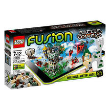 LEGO Fusion Set 21205 Battle Towers 212 Pcs Puzzle Building Game with App New