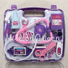 Kids Pretended Doctor's Medical Play Set & Carry Case Kit Toddler Land Toy