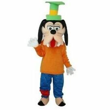 Goofy Cartoon Fancy Dress Mascot Costume Adult Suit