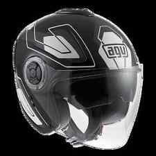 CASCO FIBERLIGHT AGV E2205 MULTI - FUTURE BLACK/GREY/WHITE TG. XS - 1121A2D00304