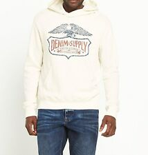 Mens Winged Logo Hooded Sweatshirt DENIM & SUPPLY RALPH LAUREN - sz M