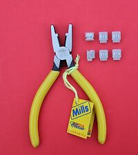 """MILLS Data & Network Telecoms Jelly Crimp Tool with """"6 3M Scotchlock UB2"""" NEW"""