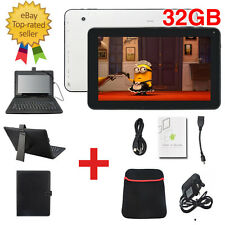 "10.1"" Inch Android 5.1.1 Wifi Quad Core Dual Camera Tablet PC HDMI Keyboard 32GB"
