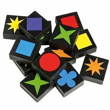 108pcs Qwirkle Board Game 2 to 4 Players Mix, Match, Score and Win!